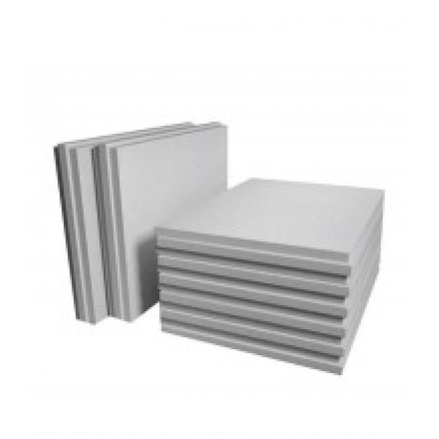 ПГП плиты гипсовые Кнауф 667х500х80мм полнотелая стандарт 30кг