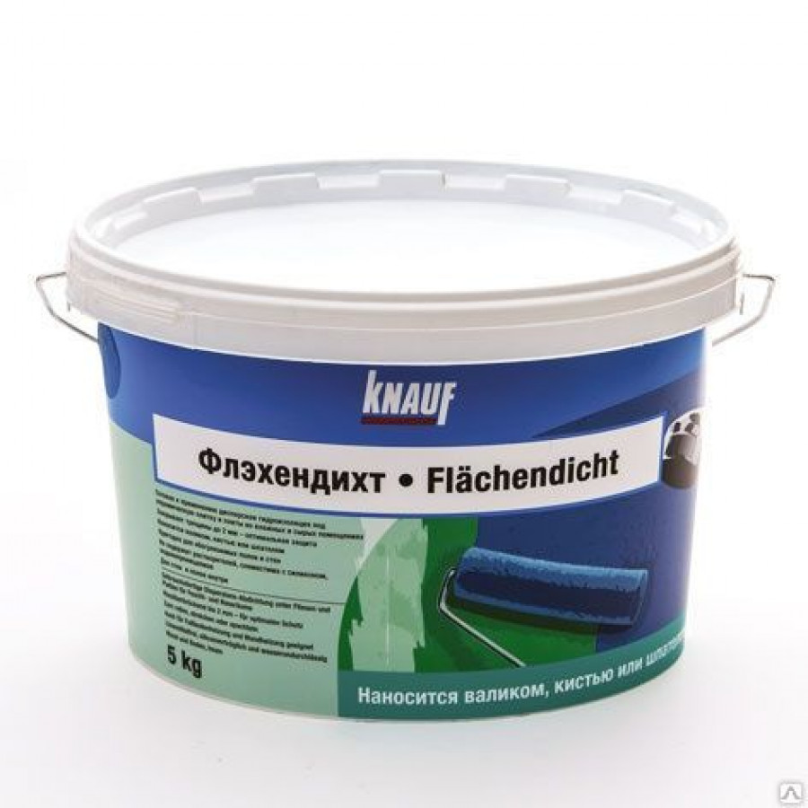 КНАУФ Флэхендихт / KNAUF Flachendicht битумная мастика (ведро 5 кг)