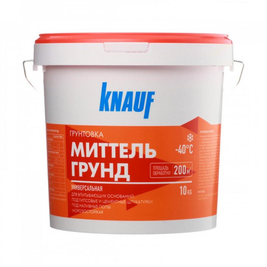 Грунтовка универсальная Knauf Миттельгрунд, 10 кг