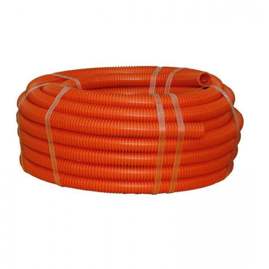 Гофра оранжевая 100м диам 20 и 16 на выбор