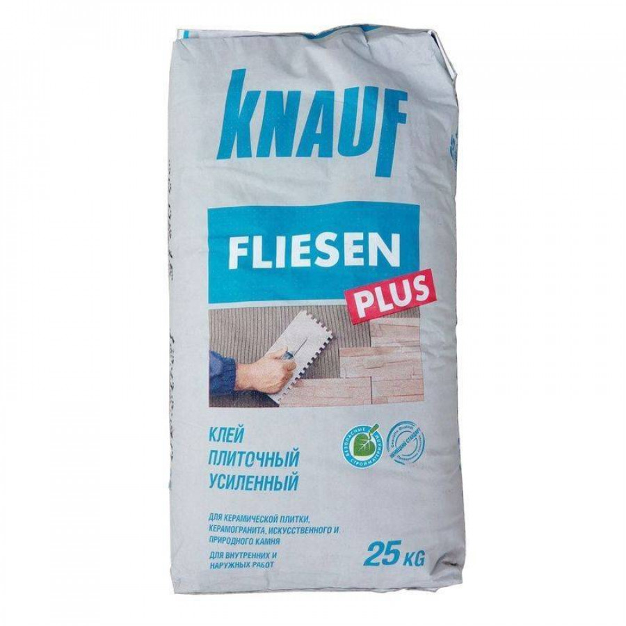 Кнауф Флизен плюс клей для плитки 25кг