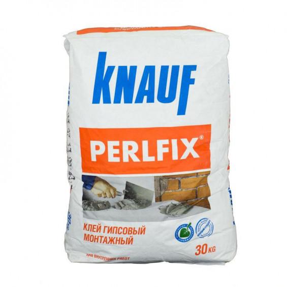 Knauf Perlfix монтажный гипсовый клей (30 кг)