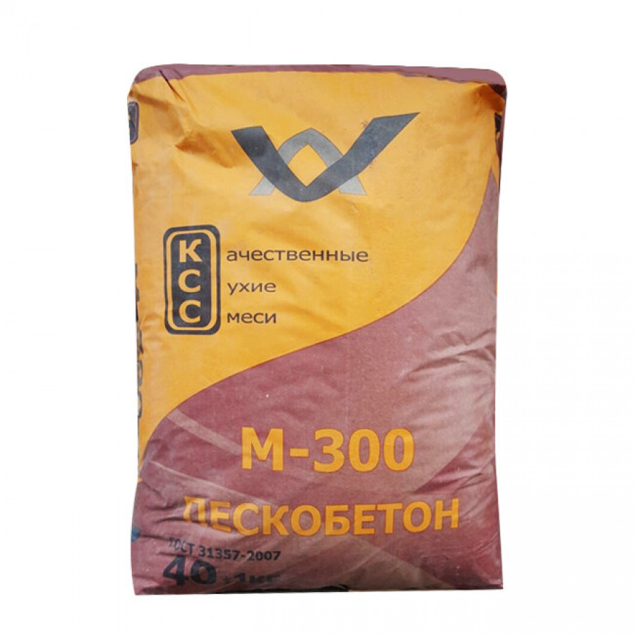 Пескобетон М-300 КСС 40кг