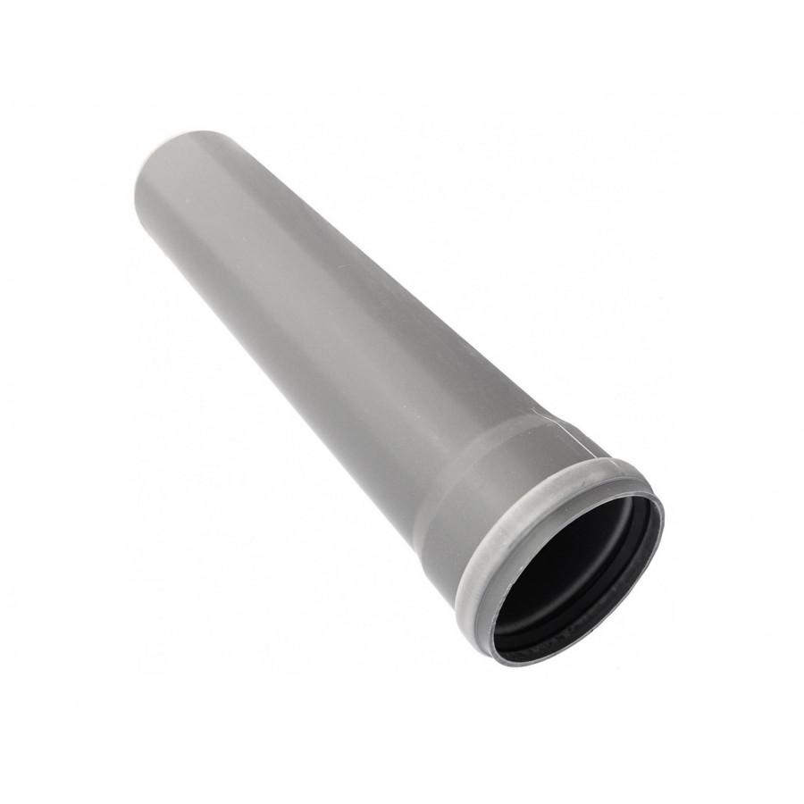 Труба серая канализационная 110х2000 мм