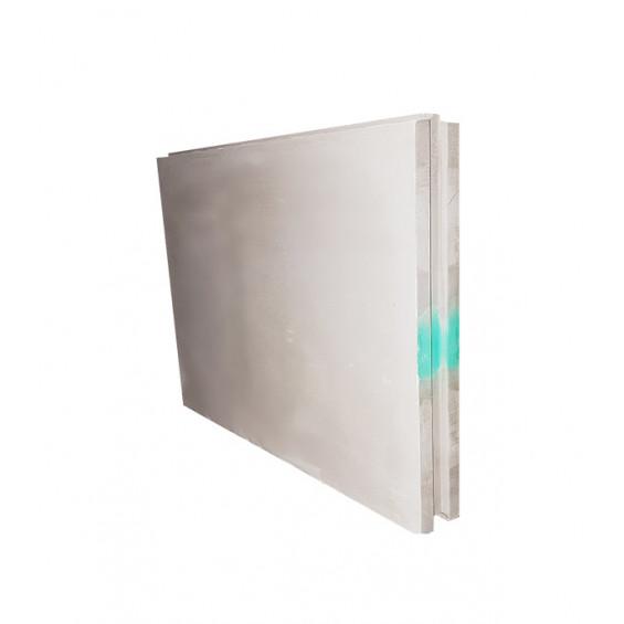 ПГП плиты гипсовые Волма 667х500х80мм полнотелая влагостойкая 30кг