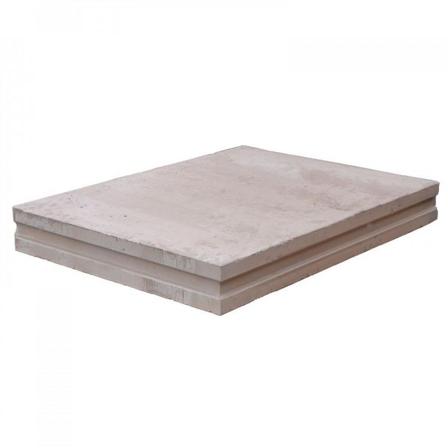 ПГП плиты гипсовые Кнауф 667х500х80мм полнотелая влагостойкая 30кг