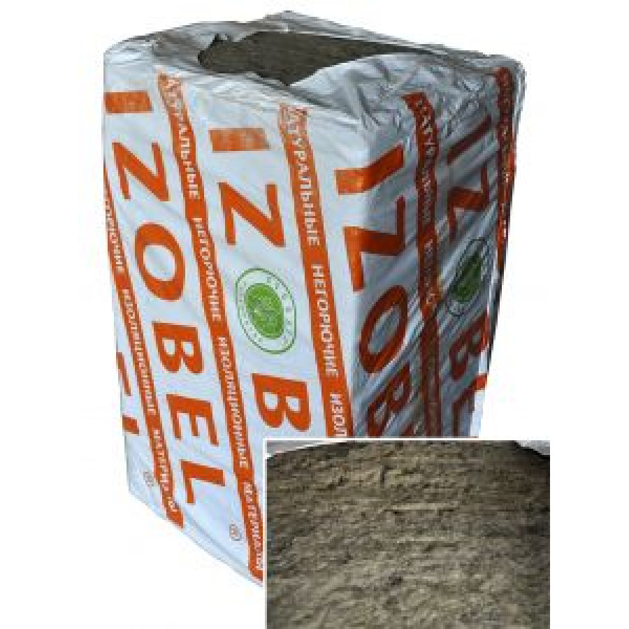 Утеплитель IZOBEL / ИЗОБЕЛ  (1000x600x100мм / 2,4 м2)