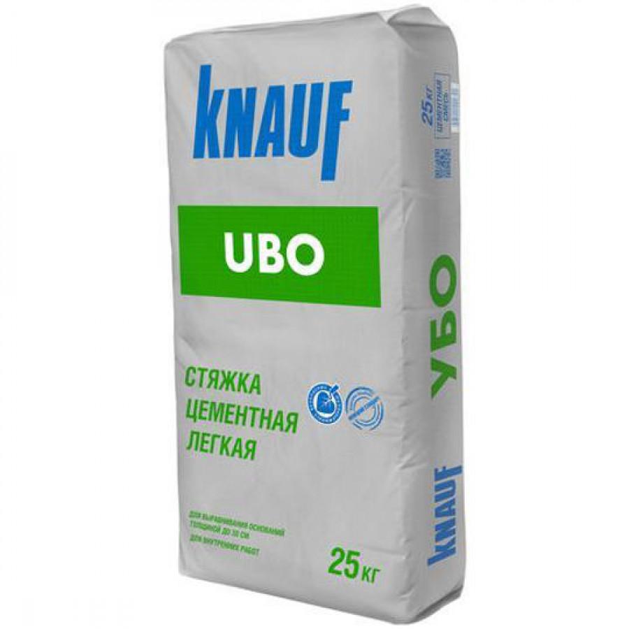 Легкая стяжка Кнауф Убо 25 кг.